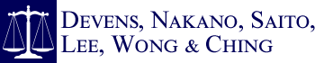 Devens, Nakano, Saito, Lee, Wong & Ching Header Logo